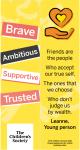 Bookmark - Design 3 (our values)